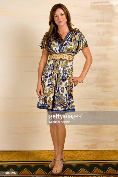 Actress Daneel Harris poses at the Step Up Women's Network 2008 Inspiration Awards luncheon on May 9 2008 at the Beverly Wilshire Hotel in Beverly...
