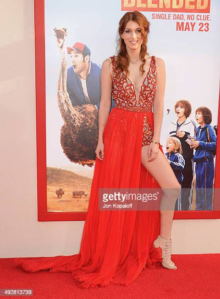 Actress Dani Thorne arrives at the Los Angeles Premiere 'Blended' at TCL Chinese Theatre on May 21 2014 in Hollywood California