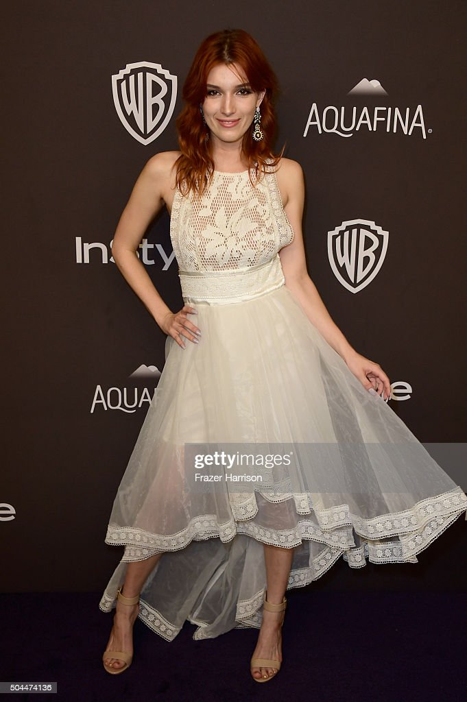 Actress Dani Thorne attends InStyle and Warner Bros. 73rd Annual Golden Globe Awards Post-Party at The Beverly Hilton Hotel on January 10, 2016 in Beverly Hills, California.