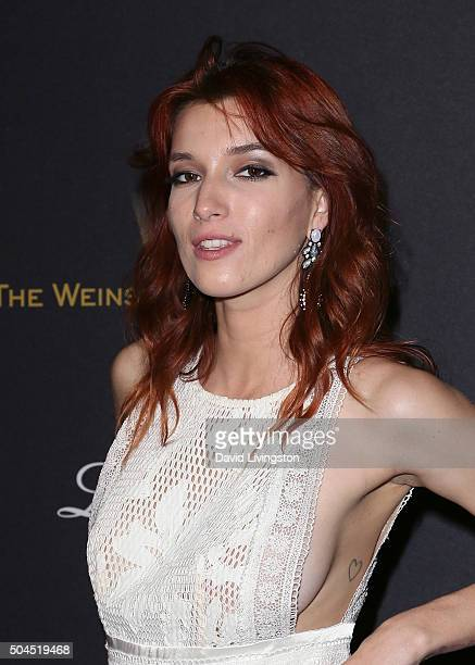 Actress Dani Thorne attends the 2016 Weinstein Company and Netflix Golden Globes after party on January 10 2016 in Los Angeles California