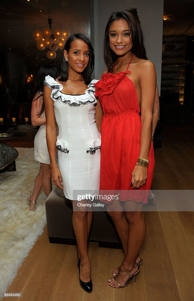 ¿Cuánto mide Dania Ramírez? - Real height Actress-dania-ramirez-and-2007-miss-usa-rachel-smith-attend-the-vh1-picture-id83434450