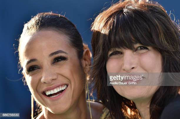 Actress Dania Ramirez and Elizabeth Keener arrive at the premiere of Disney's 'Pirates of the Caribbean Dead Men Tell No Tales' at Dolby Theatre on...