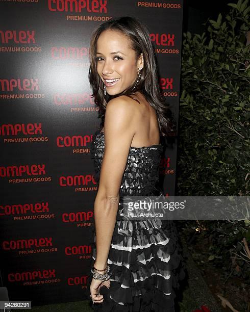 Actress Dania Ramirez arrives at MyHouse Nightclub on December 9 2009 in Hollywood California