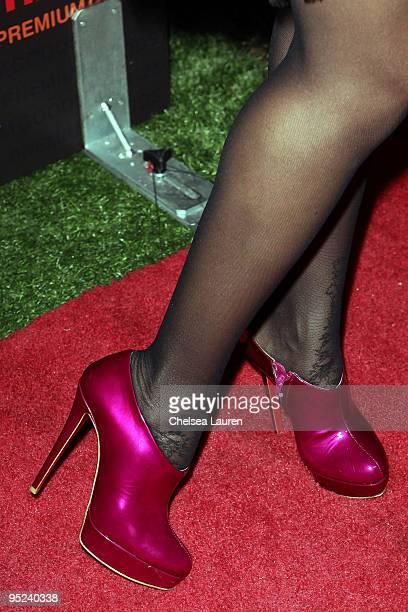 Actress Dania Ramirez arrives at the 2009 Complex Premium Goods Event at MyHouse Nightclub on December 9 2009 in Hollywood California
