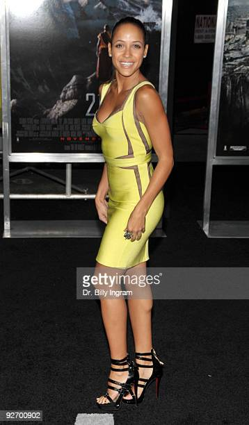 Actress Dania Ramirez arrives at the 2012 Premiere at Regal 14 at LA Live Downtown on November 3 2009 in Los Angeles California
