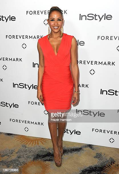 Actress Dania Ramirez arrives at the Forevermark And InStyle's A Promise Of Beauty And Brilliance Golden Globe Awards Event at Beverly Hills Hotel on...