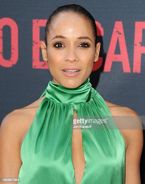 Actress Dania Ramirez arrives at the Los Angeles Premiere No Escape at Regal Cinemas LA Live on August 17 2015 in Los Angeles California