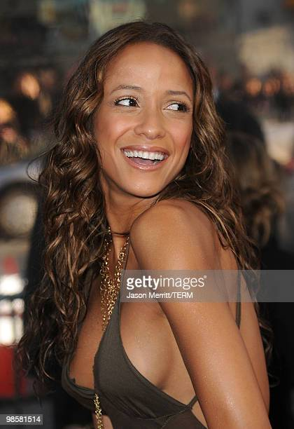 Actress Dania Ramirez arrives at The Losers Premiere at Grauman's Chinese Theatre on April 20 2010 in Hollywood California