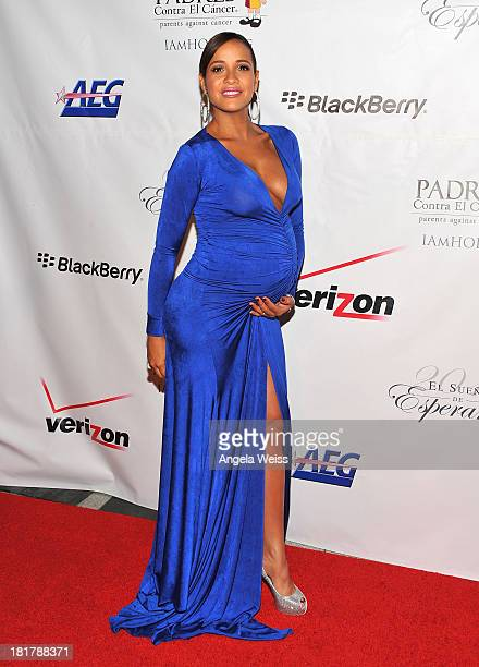 Actress Dania Ramirez arrives at the Padres Contra El Cancer 13th annual 'El Sueno de Esperanza' gala on September 24 2013 in Los Angeles California