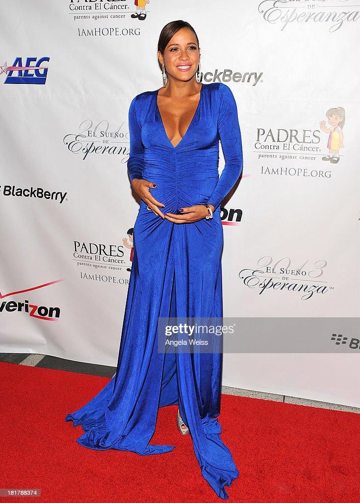 Actress Dania Ramirez arrives at the Padres Contra El Cancer 13th annual 'El Sueno de Esperanza' gala on September 24, 2013 in Los Angeles, California.