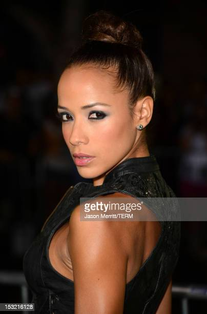 Actress Dania Ramirez arrives at the premiere of CBS Films' 'Seven Psychopaths' at Mann Bruin Theatre on October 1 2012 in Westwood California
