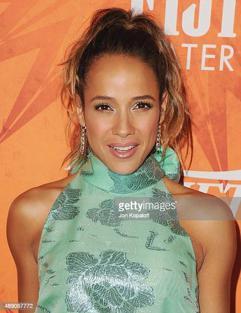 Actress Dania Ramirez arrives at the Variety And Women In Film Annual PreEmmy Celebration at Gracias Madre on September 18 2015 in West Hollywood...