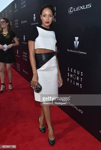 Actress Dania Ramirez arrives to The Weinstein Company and Lexus Present Lexus Short Films at The Regal Cinemas LA Live on July 30 2014 in Los...