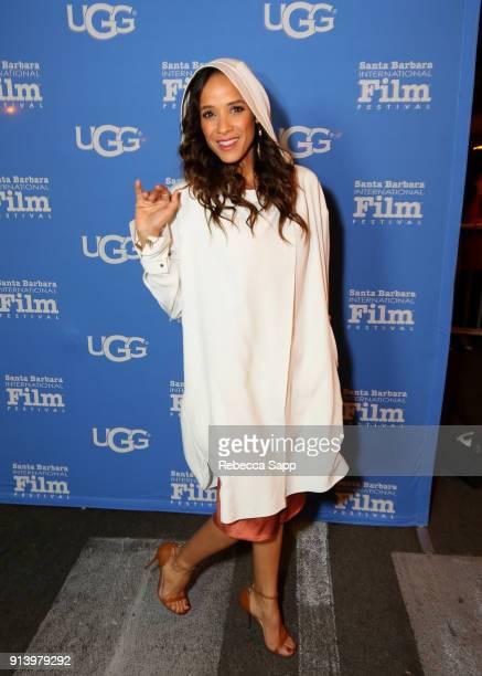 Actress Dania Ramirez at the Virtuosos Award Presented By UGG during The 33rd Santa Barbara International Film Festival at Arlington Theatre on...