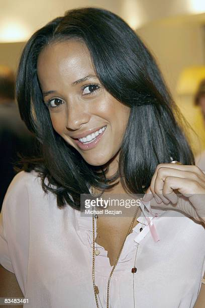 """Actress Dania Ramirez attends """"Be Chic in Pink"""" Breast Cancer Fundraiser on October 28, 2008 in West Hollywood, California.."""
