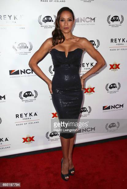 Actress Dania Ramirez attends the 18th Annual Golden Trailer Awards at the Saban Theatre on June 6 2017 in Beverly Hills California