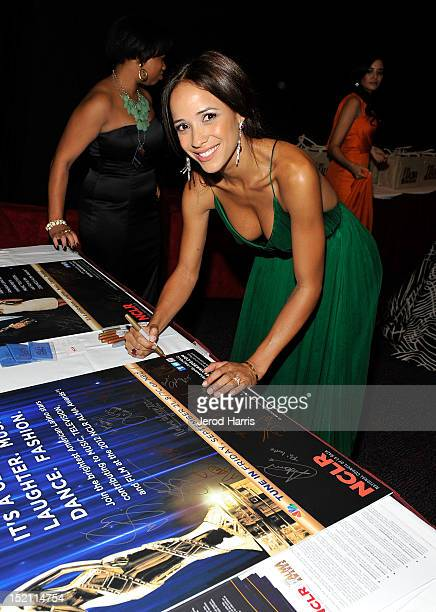 Actress Dania Ramirez attends the 2012 NCLR ALMA Awards at Pasadena Civic Auditorium on September 16 2012 in Pasadena California