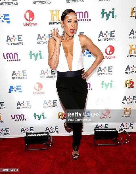 Actress Dania Ramirez attends the 2014 AE Networks Upfront at Park Avenue Armory on May 8 2014 in New York City