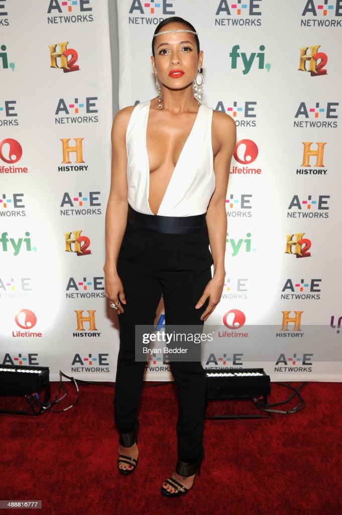Actress Dania Ramirez attends the 2014 A+E Networks Upfront on May 8, 2014 in New York City.