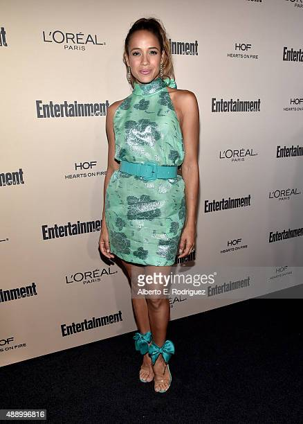 Actress Dania Ramirez attends the 2015 Entertainment Weekly PreEmmy Party at Fig Olive Melrose Place on September 18 2015 in West Hollywood California