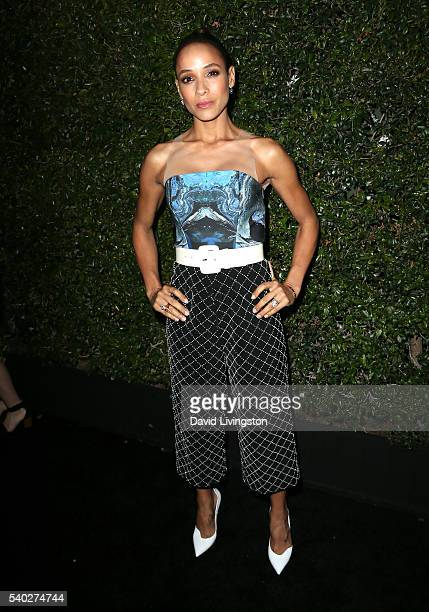 Actress Dania Ramirez attends the 2016 Women In Film Max Mara Face of the Future celebrating Natalie Dormer at Chateau Marmont on June 14 2016 in Los...