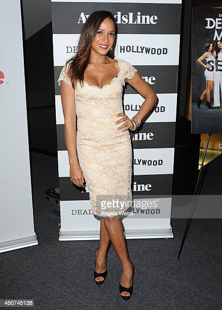 Actress Dania Ramirez attends the Awardsline/Deadline screening of 'Devious Maids' at Landmark Theatre on June 16 2014 in Los Angeles California