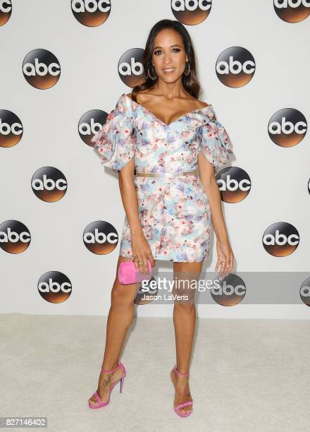 Actress Dania Ramirez attends the Disney ABC Television Group TCA summer press tour at The Beverly Hilton Hotel on August 6 2017 in Beverly Hills...