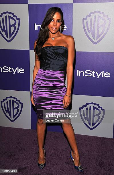 Actress Dania Ramirez attends the InStyle and Warner Bros 67th Annual Golden Globes post party held at the Oasis Courtyard at The Beverly Hilton...