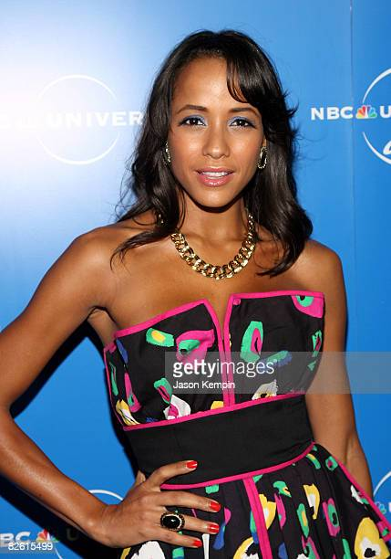Actress Dania Ramirez attends the NBC Universal Experience at Rockefeller Center on May 12 2008 in New York City