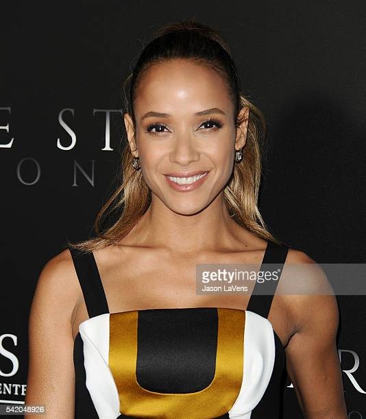 Actress Dania Ramirez attends the premiere of Free State of Jones at DGA Theater on June 21 2016 in Los Angeles California