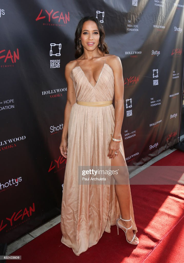 Actress Dania Ramirez attends the premiere of 'Lycan' at Laemmle's Ahrya Fine Arts Theatre on August 15, 2017 in Beverly Hills, California.