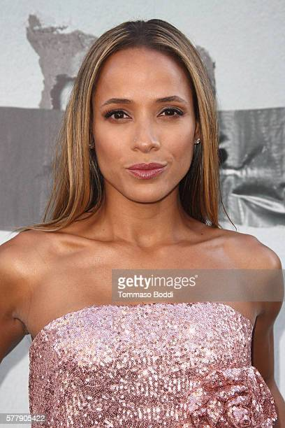 Actress Dania Ramirez attends the premiere of New Line Cinema's Lights Out at TCL Chinese Theatre on July 19 2016 in Hollywood California