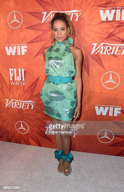 Actress Dania Ramirez attends the Variety and Women in Film Annual PreEmmy Celebration at Gracias Madre on September 18 2015 in West Hollywood...