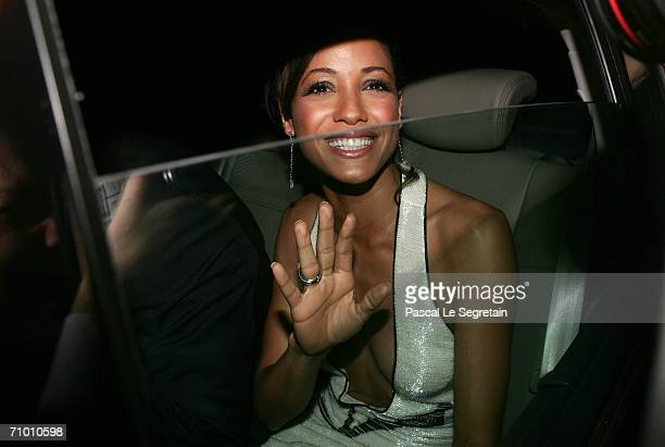Actress Dania Ramirez photographed after the 'XMen 3 The Last Stand' premiere at the Palais des Festivals during the 59th International Cannes Film...