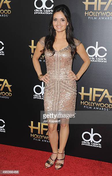 Actress Danica McKellar arrives at the 19th Annual Hollywood Film Awards at The Beverly Hilton Hotel on November 1 2015 in Beverly Hills California