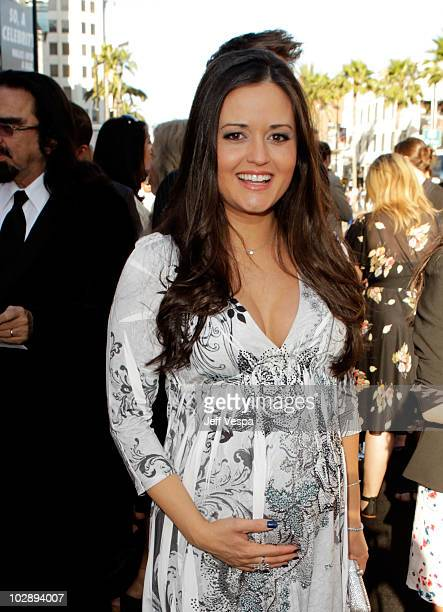 Actress Danica McKellar arrives at the Inception Los Angeles Premiere at Grauman's Chinese Theatre on July 13 2010 in Hollywood California
