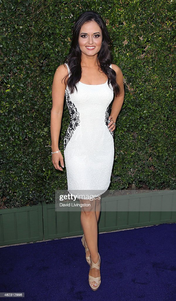 Actress Danica McKellar attends Hallmark Channel and Hallmark Movies and Mysteries at the 2015 Summer TCA Tour at a private residence on July 29, 2015 in Beverly Hills, California.