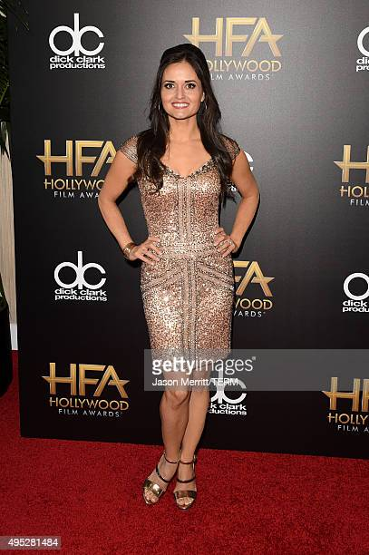 Actress Danica McKellar attends the 19th Annual Hollywood Film Awards at The Beverly Hilton Hotel on November 1 2015 in Beverly Hills California