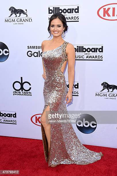 Actress Danica McKellar attends the 2015 Billboard Music Awards at MGM Grand Garden Arena on May 17 2015 in Las Vegas Nevada