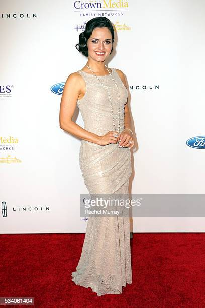 Actress Danica McKellar attends the 41st Annual Gracie Awards at Regent Beverly Wilshire Hotel on May 24 2016 in Beverly Hills California