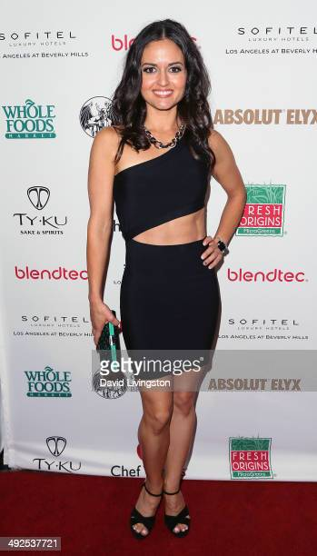 Actress Danica McKellar attends the Dancing with the Stars Season 18 official wrap party at the Sofitel Hotel on May 20 2014 in Los Angeles California