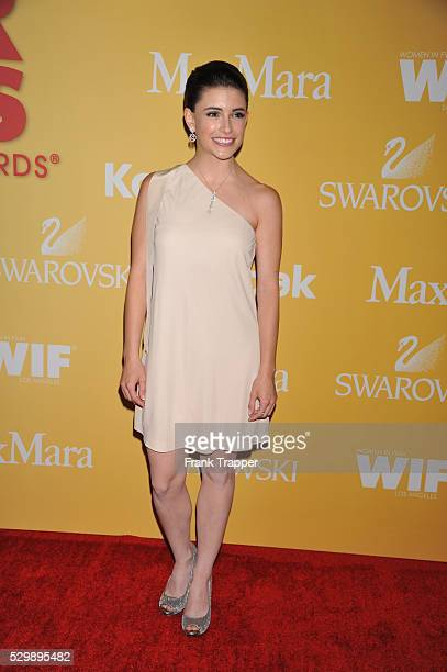 Actress Daniela Bobadilla arrives at the Women In Film 2012 Crystal Lucy Awards held at the Beverly Hilton Hotel in Beverly HIlls