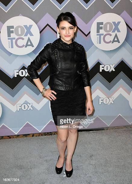 Actress Daniela Bobadilla arrives for The 2013 TCA Winter Press Tour FOX AllStar Party held at The Langham Huntington Hotel and Spa on January 8 2013...