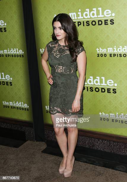Actress Daniela Bobadilla attends ABC's 'The Middle' 200th episodes celebration at the Fig Olive on October 28 2017 in West Hollywood California