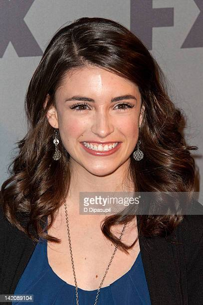Actress Daniela Bobadilla attends the 2012 FX Ad Sales Upfront at Lucky Strike on March 29 2012 in New York City