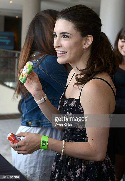 Actress Daniela Bobadilla stops by Crystal Light Liquid as they toast the Emmys at Kari Feinstein's PreEmmy Style Lounge at the Andaz Hotel on...