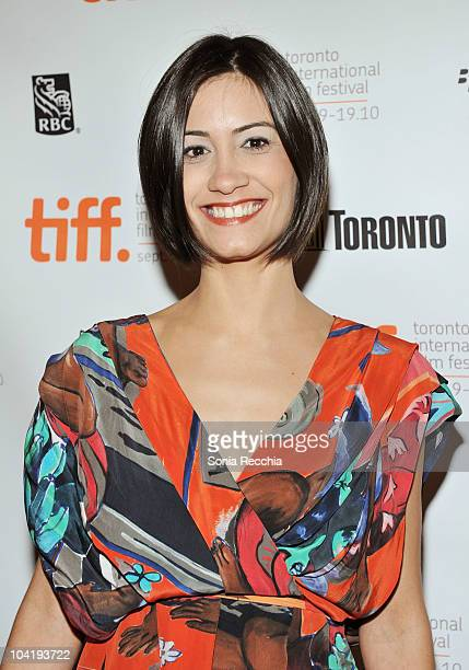 Actress Daniela Dams attends Rio Sex Comedy Premiere during Toronto International Film Festival at The Elgin on September 16 2010 in Toronto Canada
