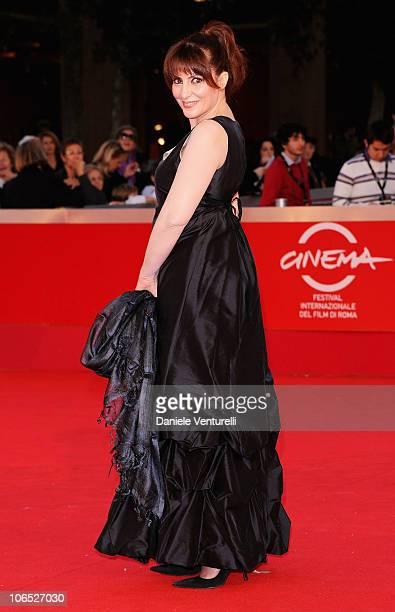 Actress Daniela Giordano attends the Le Cose Che Restano Premiere during the 5th International Rome Film Festival at the Auditorium Parco Della...