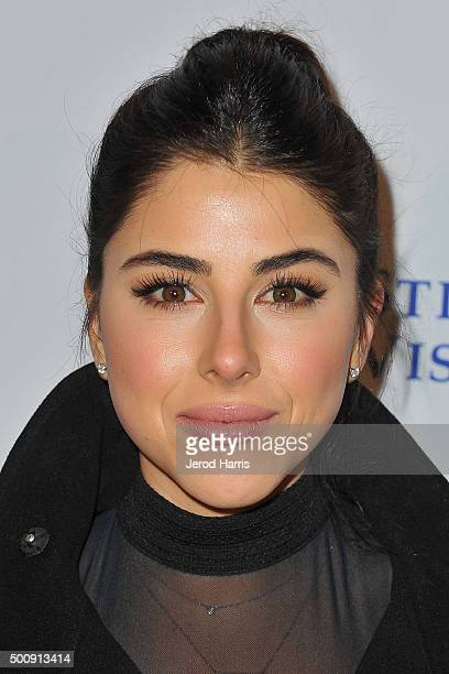 Actress Daniela Monet arrives at Ui Culture App Launch Party at TCL Chinese Theatre on December 10 2015 in Hollywood California