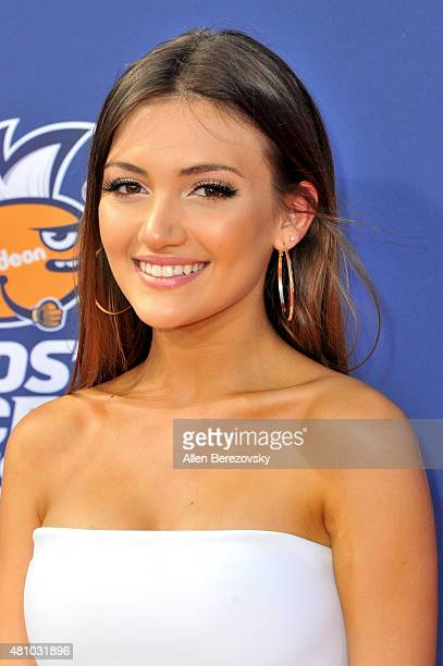 Actress Daniela Nieves attends the Nickelodeon Kids' Choice Sports Awards 2015 at UCLA's Pauley Pavilion on July 16 2015 in Westwood California